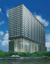башня Шиодоме Сумитомо Билдинг в Токио