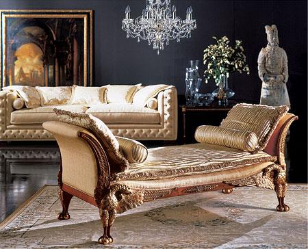 дизайн интерьера и мебели стиль ампир